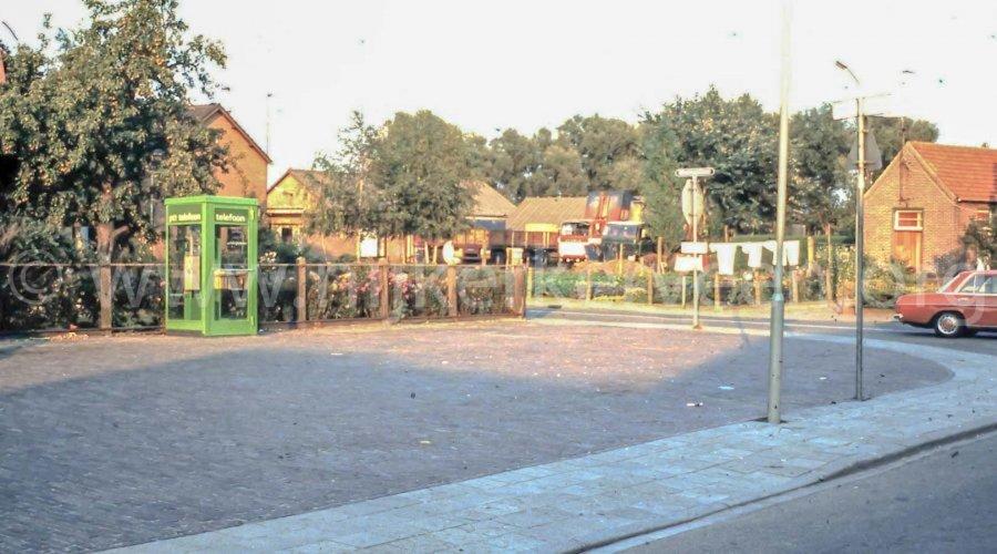 Kruispunt van Dijkhuizenstraat Nijkerkerveen