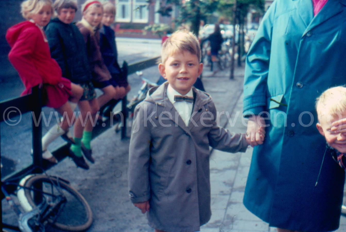Eerste Schooldag Johannes Calvijnschool 1967