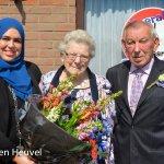 Breunis en Paula van der Kieft 60 Jaar getrouwd