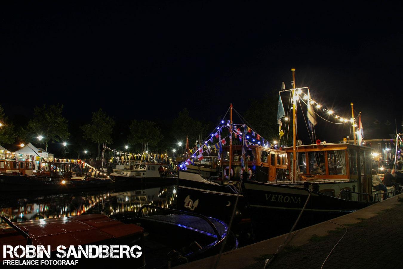 Prachtig verlichte boten op vooravond Sleepbootdagen - De Veense ...