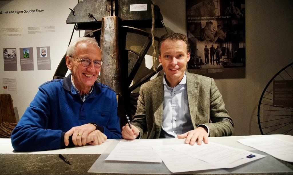 touwfabriek langman verlengt sponsorcontract met museum nijkerk de veense courant online. Black Bedroom Furniture Sets. Home Design Ideas