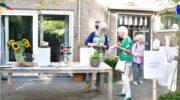 Veel belangstelling voor Kunst in de tuin in Hoevelaken