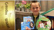 Derde Gouden Wikkel gevonden bij Kinderzwerfboekstation