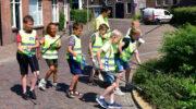 Rehobothschool ruimt binnenstad Nijkerk op