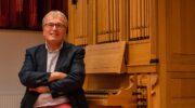 'Engels' orgelconcert Dick Sanderman in Grote Kerk Nijkerk
