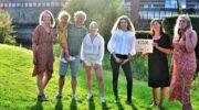 Leerlingen Corlaer College schenken 1.500 euro aan Irma's MisSie