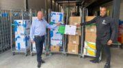 Gerard van den Tweel helpt bij hulpactie Suriname