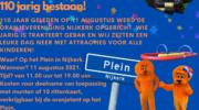 Feestje op 11 augustus voor 110-jarige Oranjevereniging Nijkerk