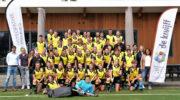 Teams hockeyclub Nijkerk in het nieuw